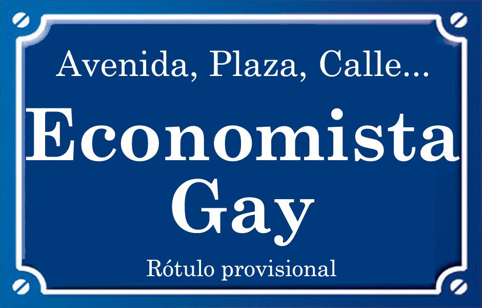 Economista Gay (calle)