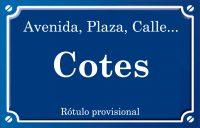 Cotes (calle)