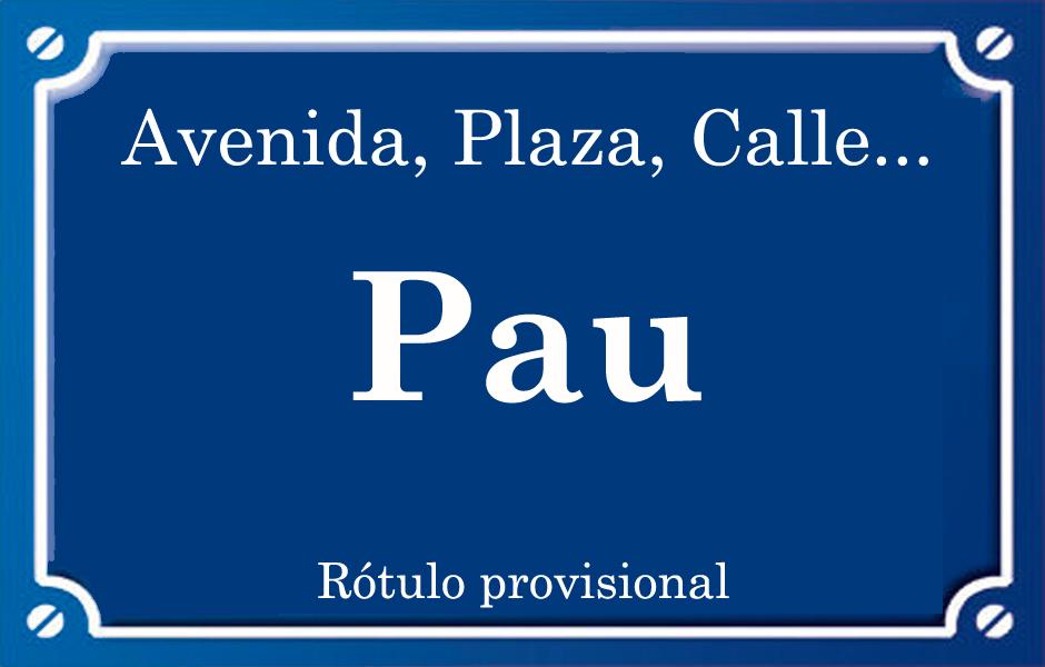 Pau (calle)