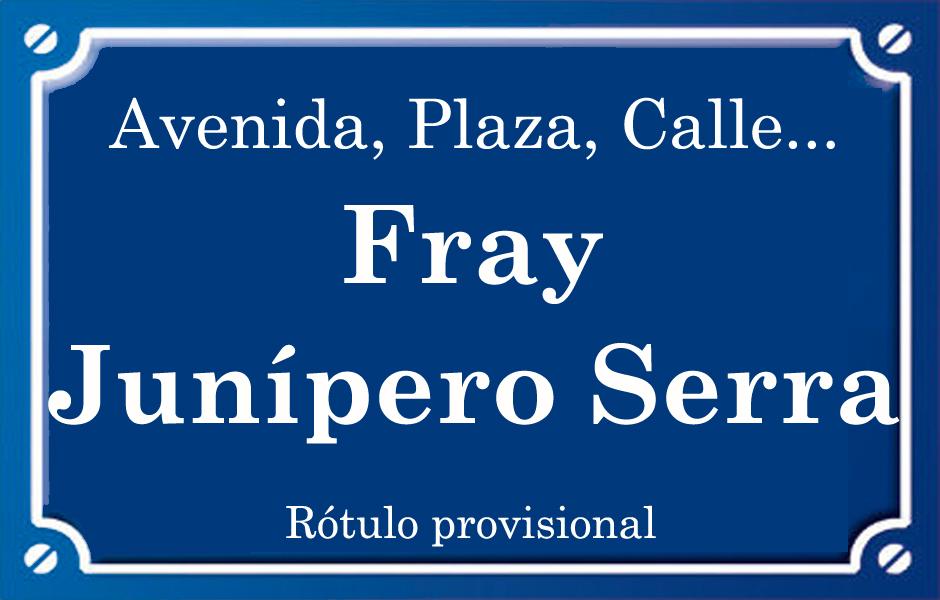 Fra Junipero Serra (calle)