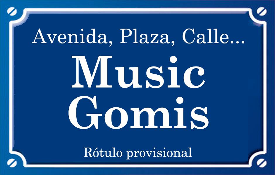 Music Gomis (calle)