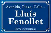 Lluís Fenollet (calle)