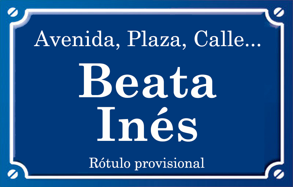 Beata Inés (calle)