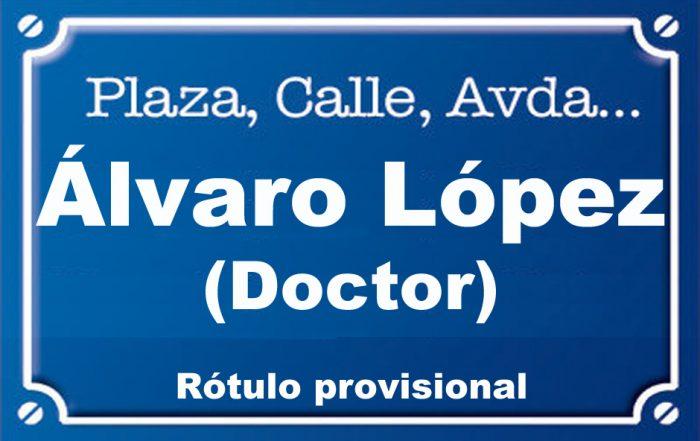 Doctor Álvaro López (calle)
