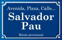 Salvador Pau (calle)