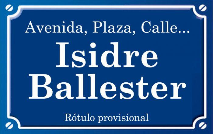 Isidro Ballester (calle)