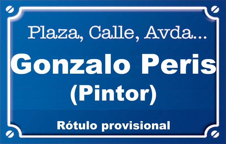 Pintor Gonzalo Peris (plaza)