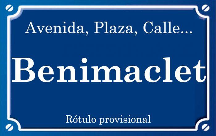 Benimaclet (plaza)