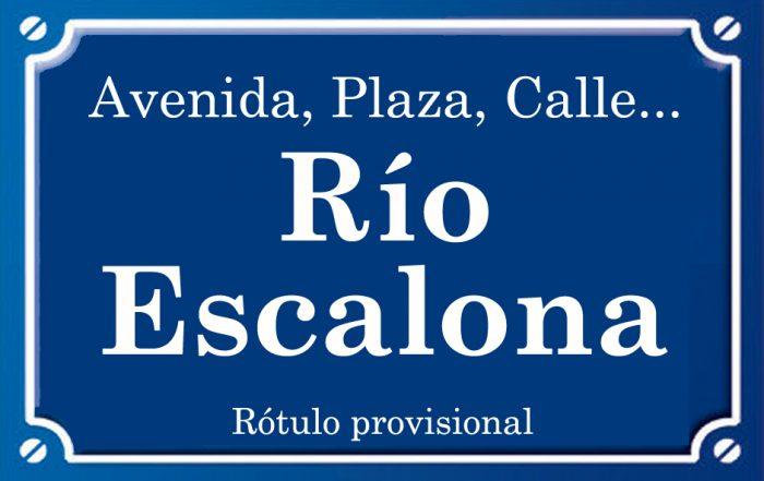 Río Escalona (calle)