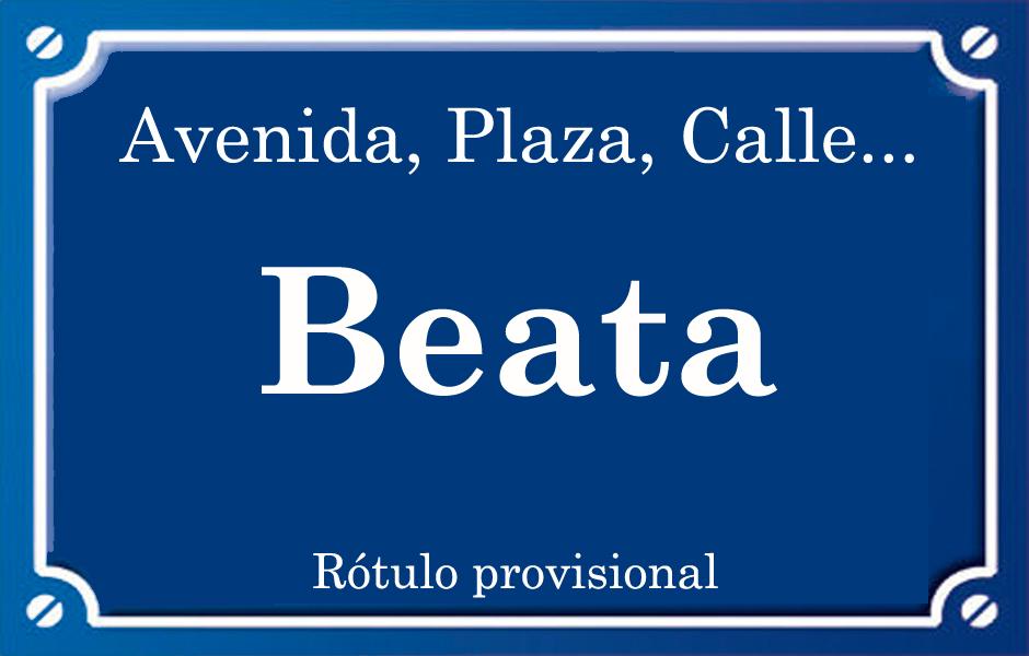Beata (calle)