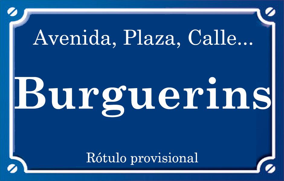 Burguerins (calle)