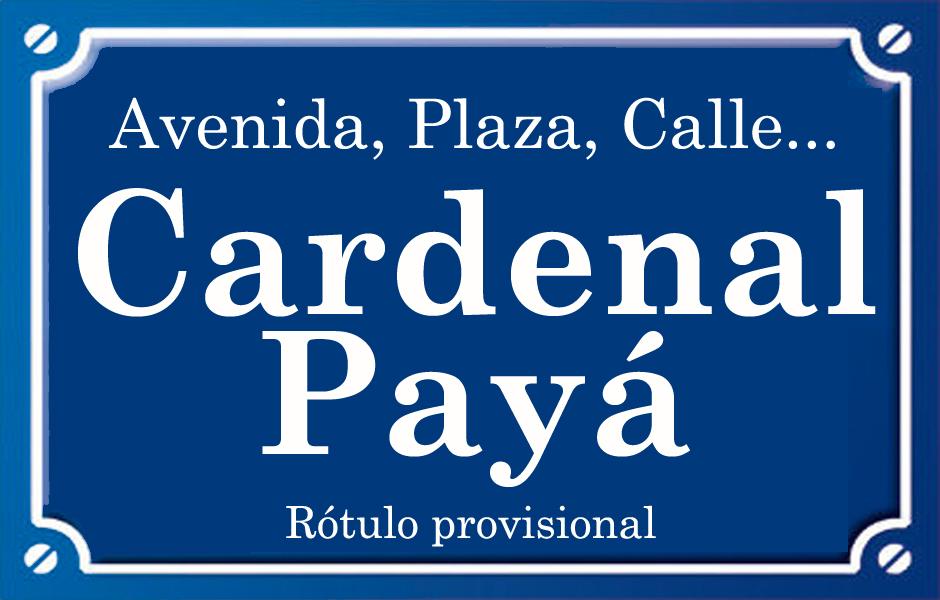 Cardenal Payá (calle)